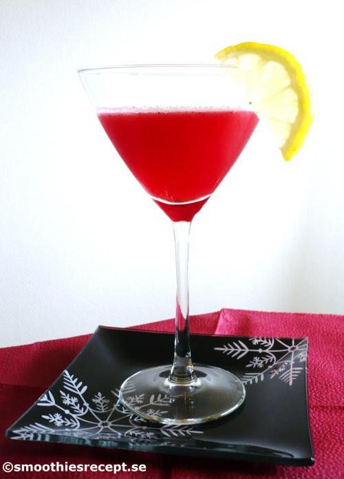 tranbärslemonad